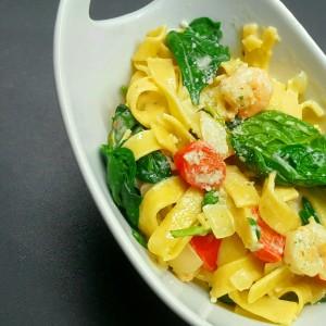 Pasta e spinaci 1