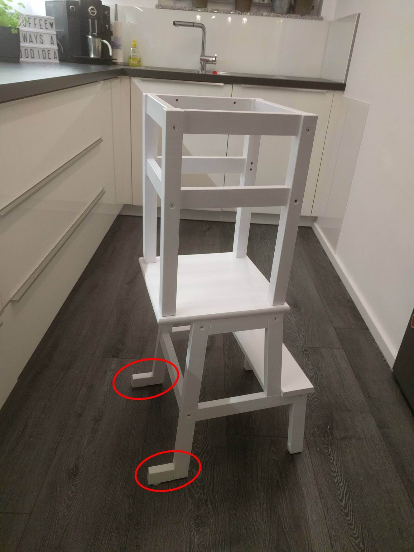Learning Tower – Ikea Hack – gabelschereblog