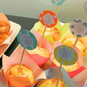Vanillepudding Schnecken Muffins 3