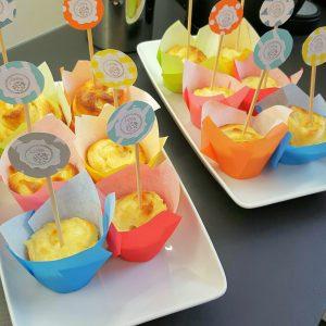 Vanillepudding Schnecken Muffins 5