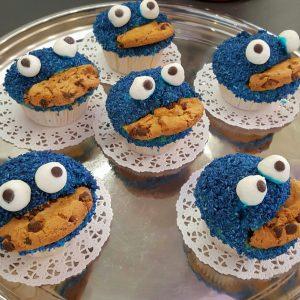 Krümelmonster Muffins 5