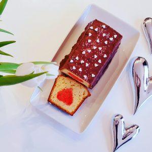 Kuchen mit Herz