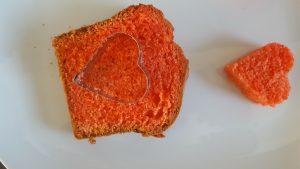 Kuchen mit Herz 6