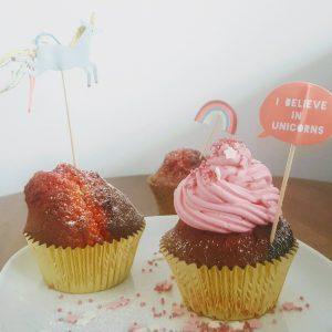 Regenbogen Muffins 4