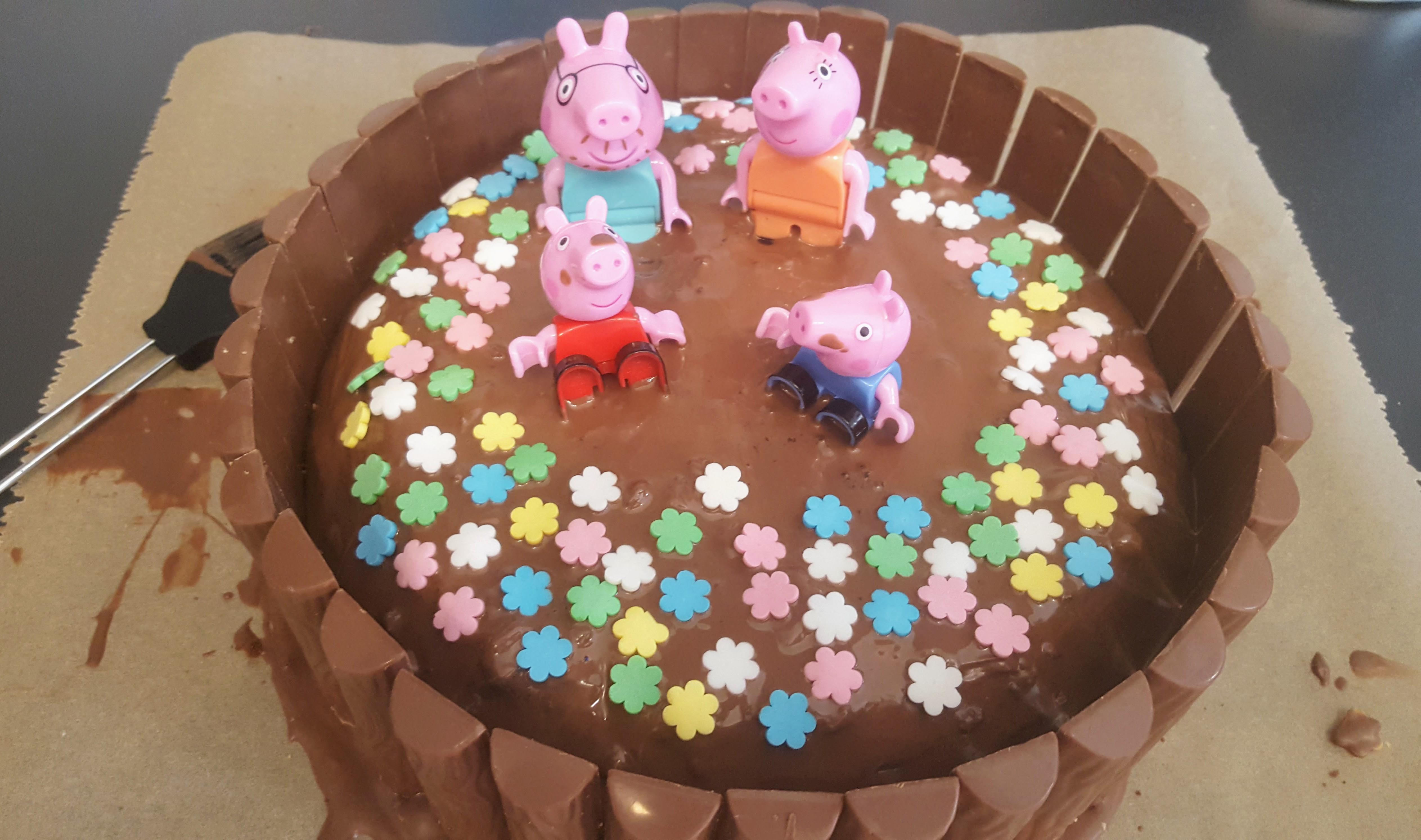 Peppa Wutz Kuchen 1 1