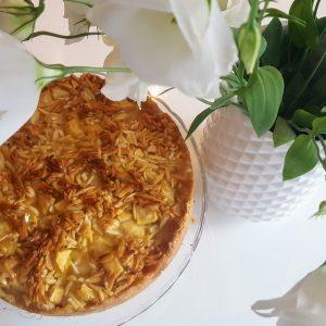 Apfelkuchen mit Bienenstichdecke 6