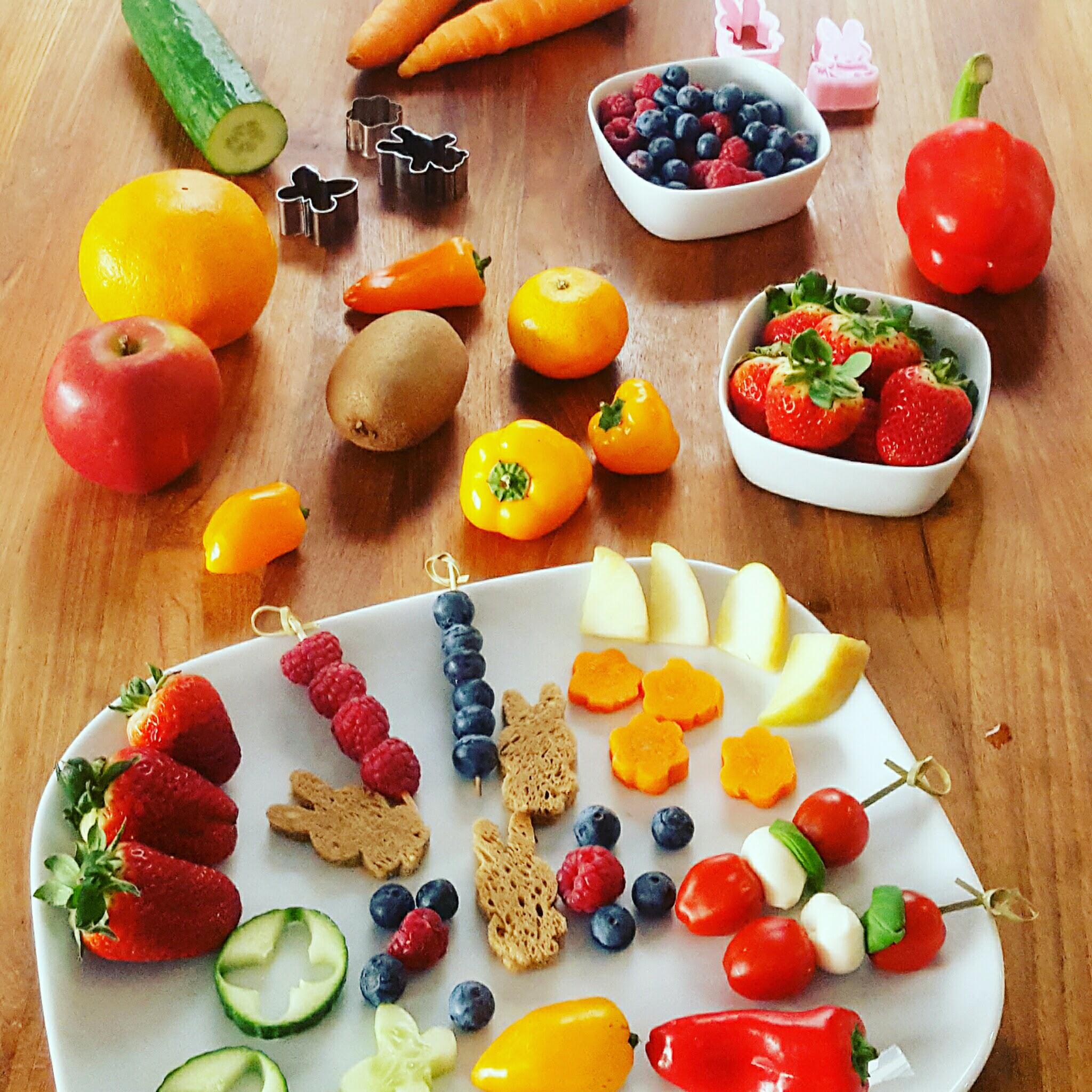 Snacks für ein Picknick mit Kindern 1