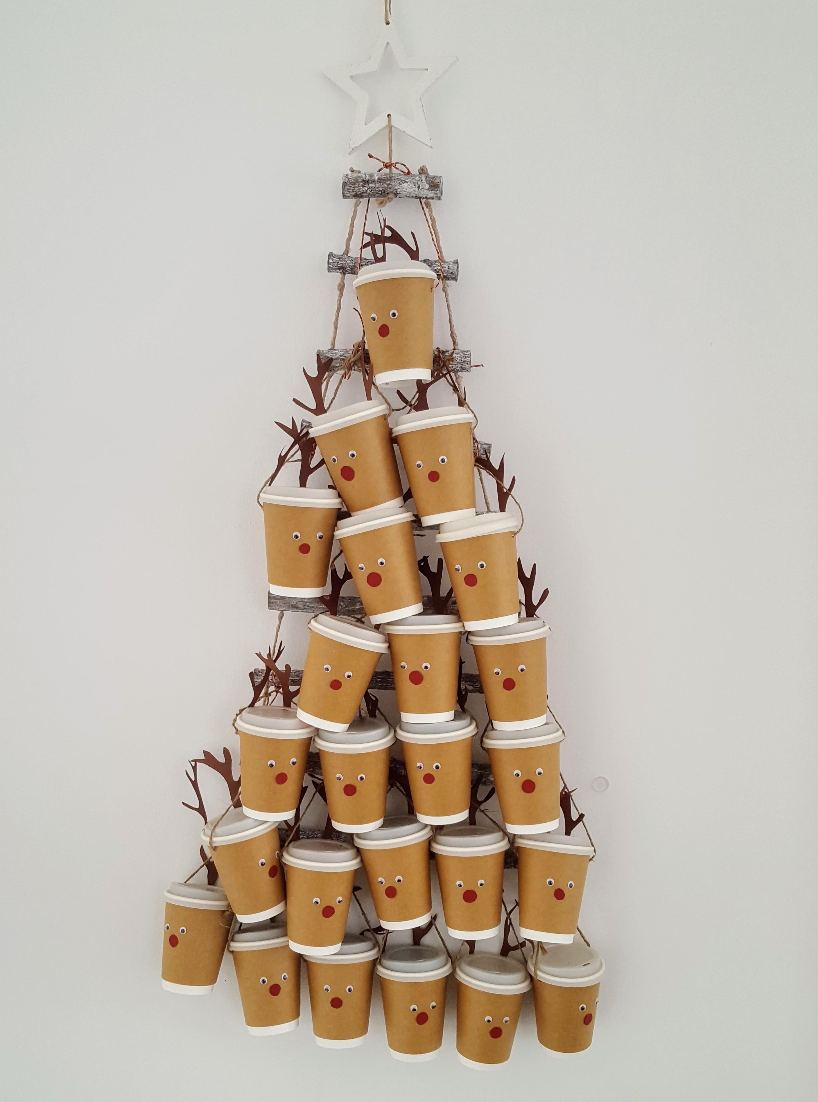 Diy rentier adventskalender gabelschereblog - Nanu nana weihnachten ...