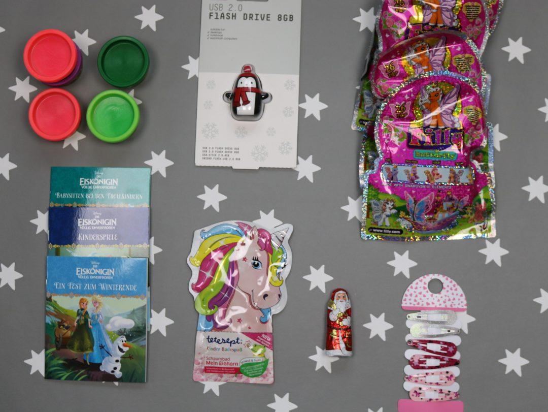 Mädchen Weihnachtskalender.Adventskalender Für Das Kind Befüllen Mädchen Version