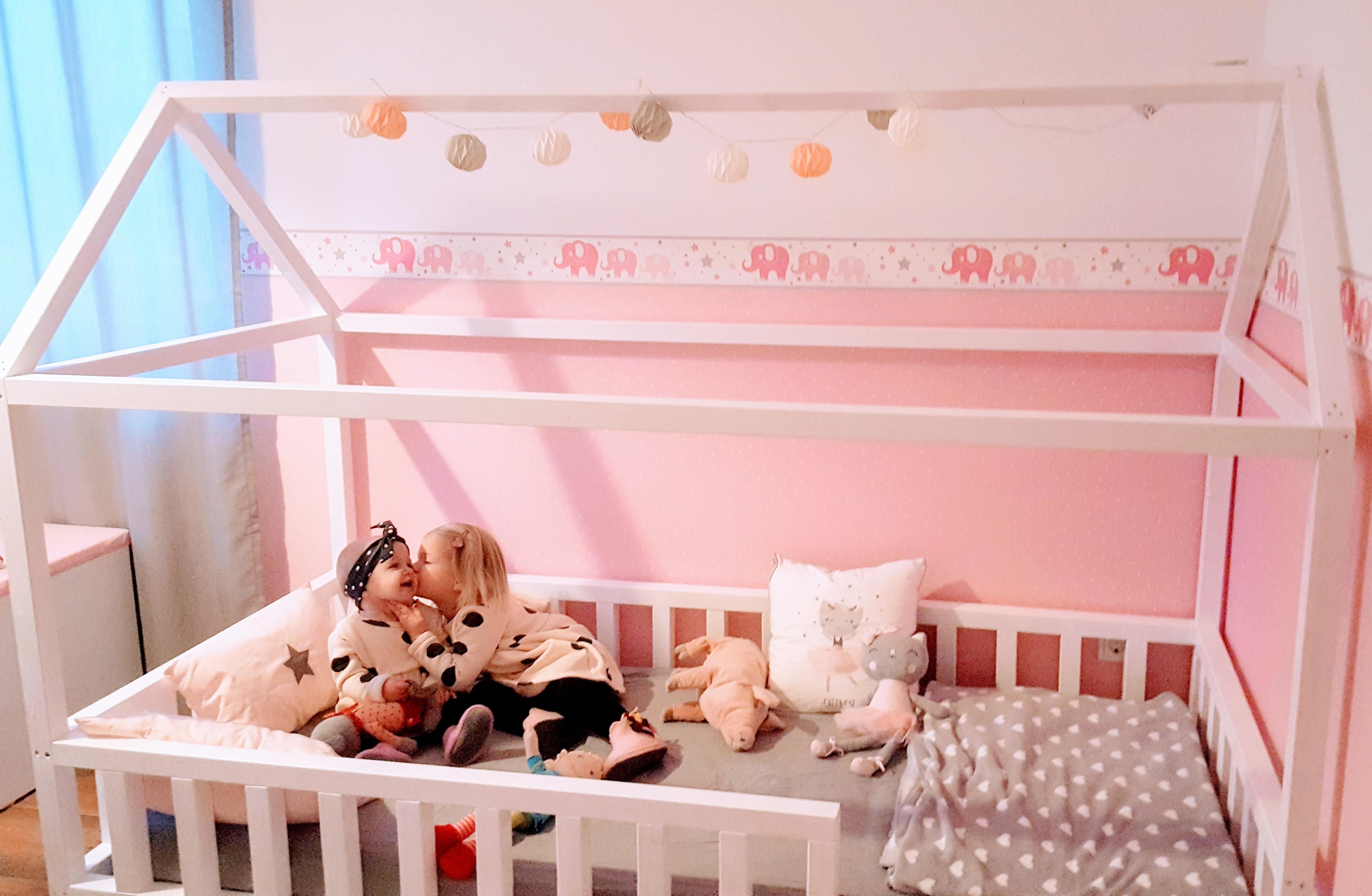 Bevorzugt DIY Hausbett für Kinder – gabelschereblog BV01