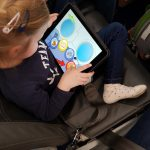 Flugreise mit Kind