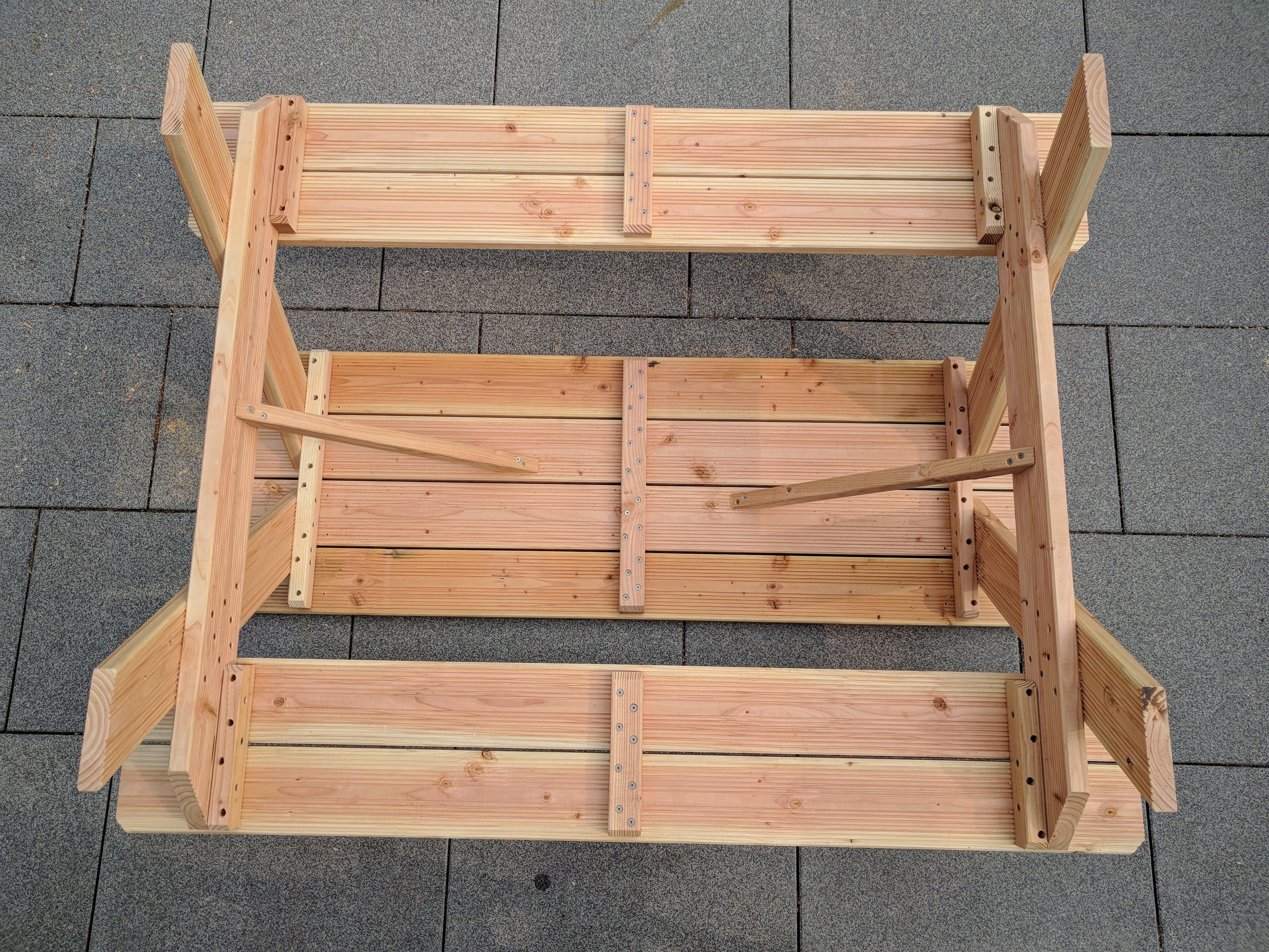 Kletterdreieck Diy : Diy picknicktisch für kinder u gabelschere