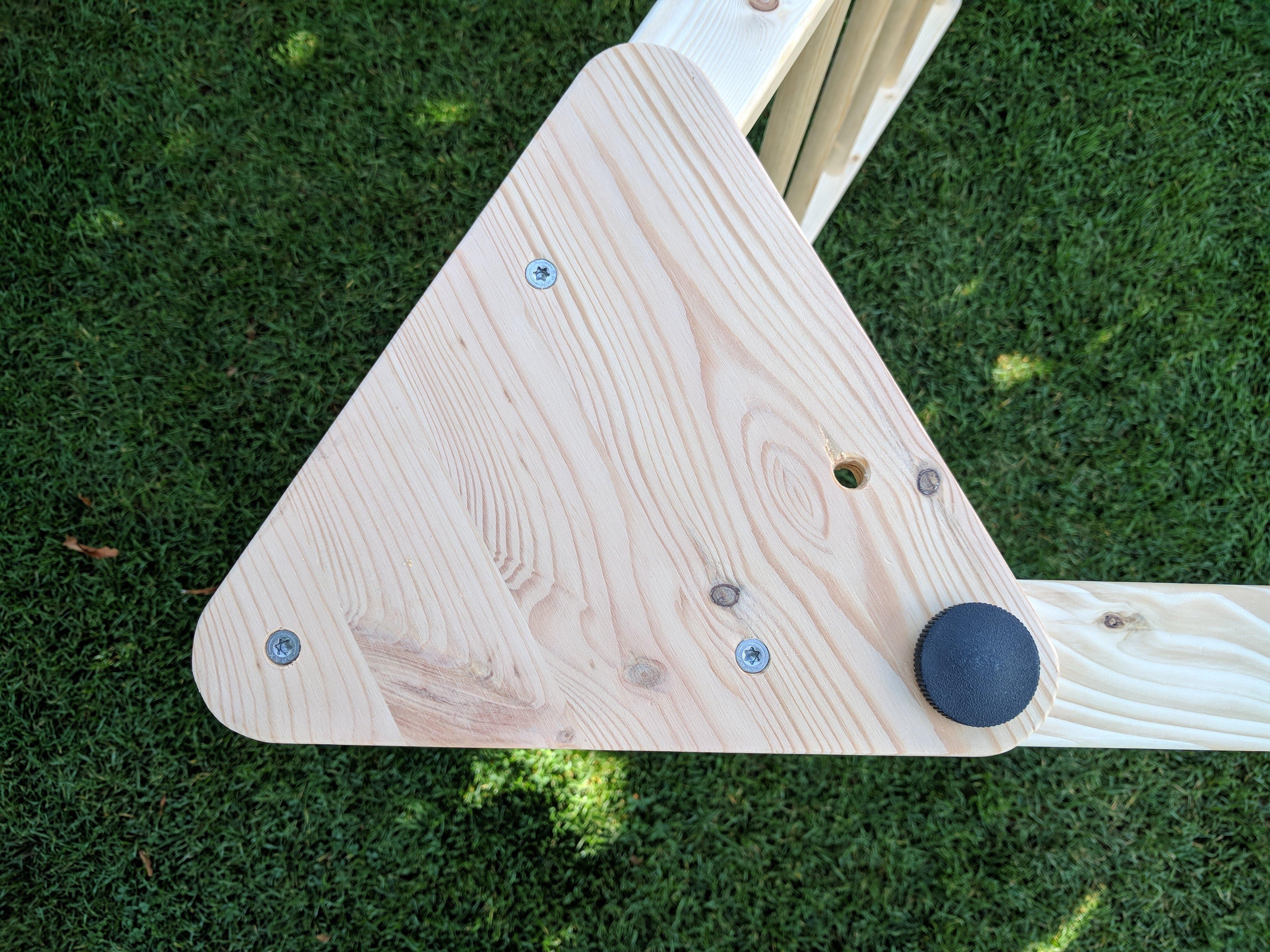 Kletterdreieck Für Kinder : Goldrabe dreiecksständer kletterdreieck