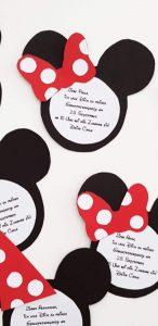 Minnie Mouse Geburtstag
