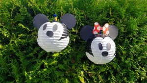 Mickey und Minnie Mouse Laterne 8