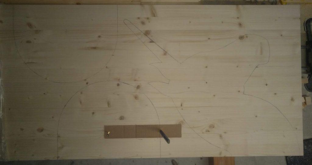 DIY Holzpferd Einhorn VOLTIGIERPFERD 10