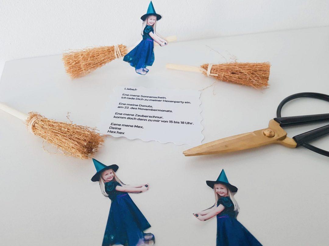 DIY Einladungskarten Hexenparty 4