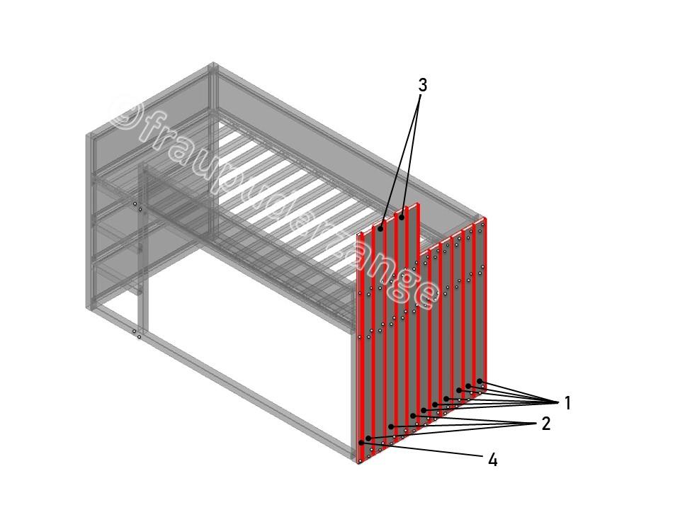 Ikea Hochbett kura hack 1