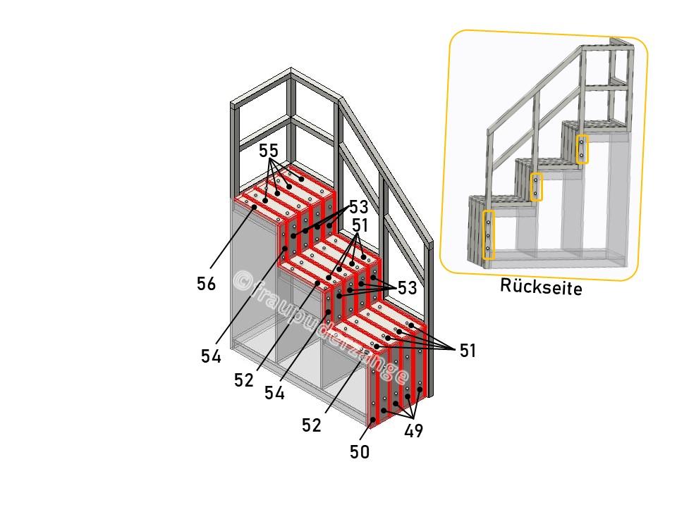 Ikea Hochbett kura hack 15