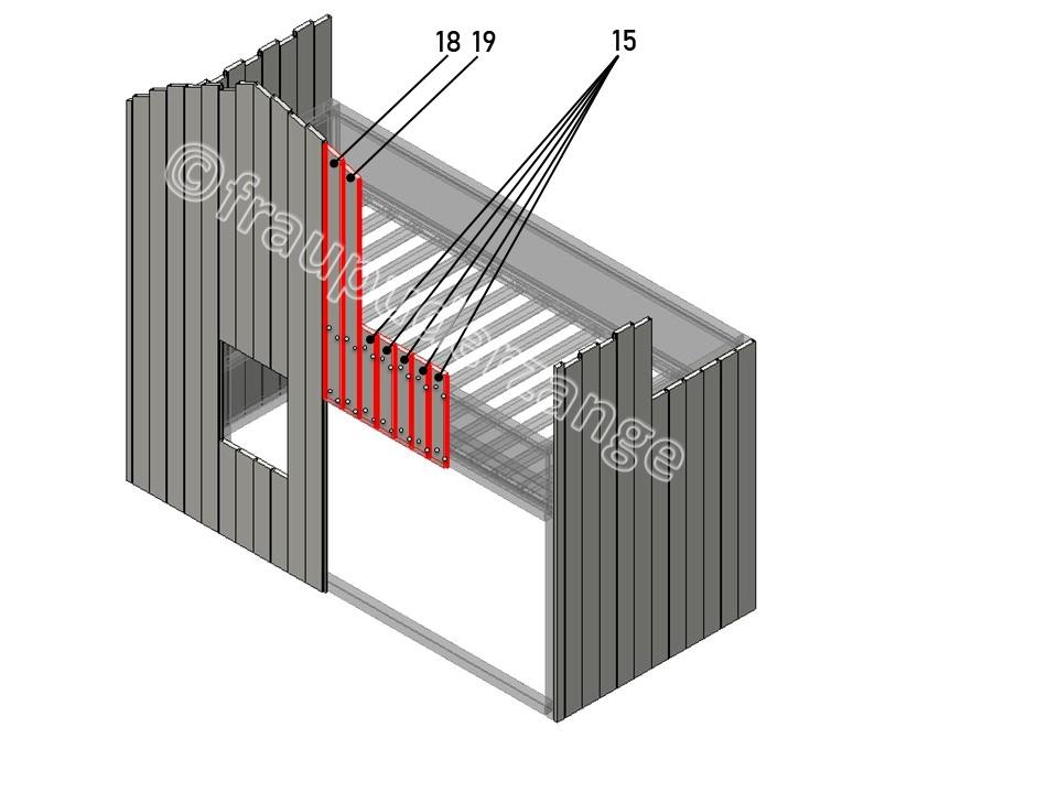 Ikea Hochbett kura hack 6