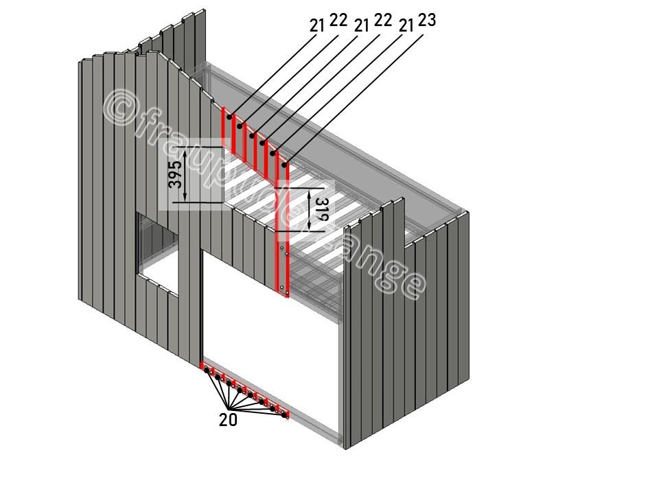 Ikea Hochbett kura hack 7