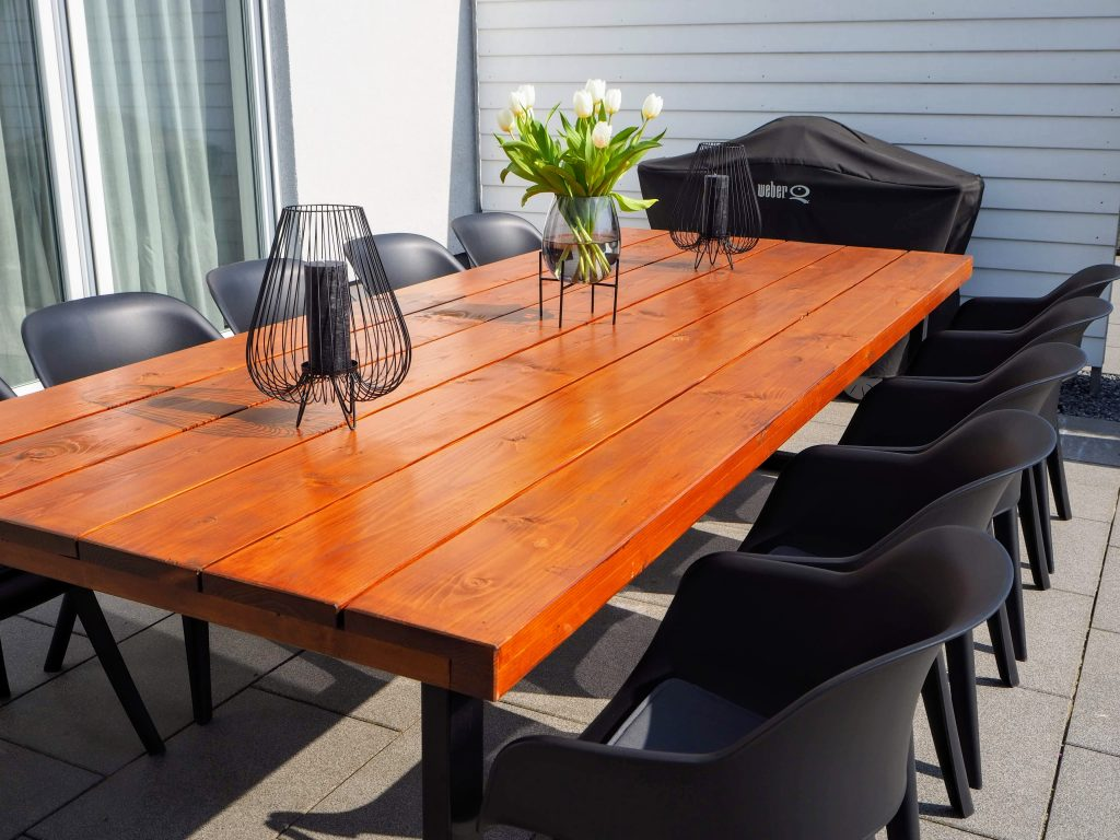 DIY Gartentisch 2
